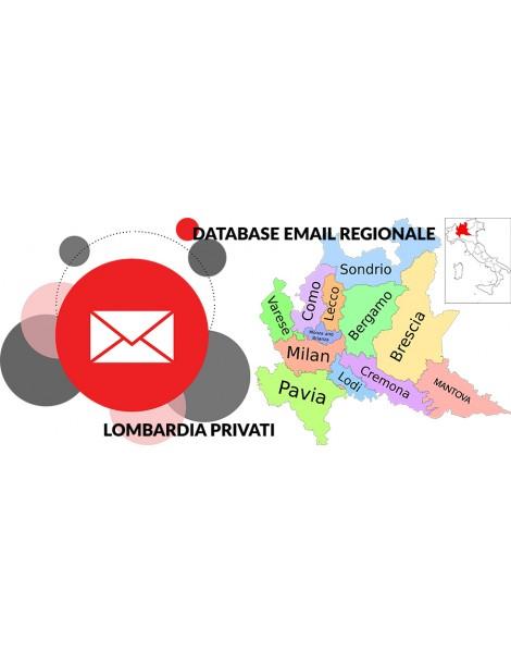 DATABASE EMAIL LOMBARDIA PRIVATI