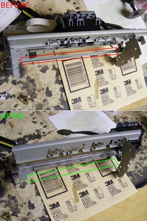 carrello stampante