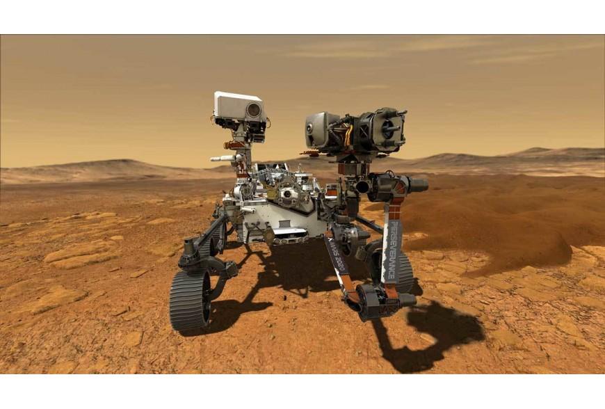 PERSEVERANCE Arriva su Marte il 18 febbraio