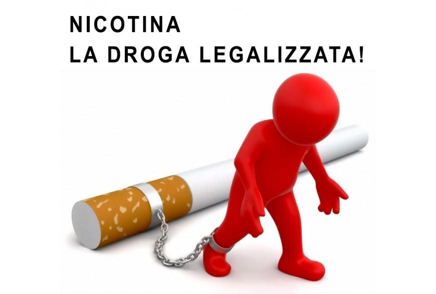 NICOTINA la Droga legalizzata.