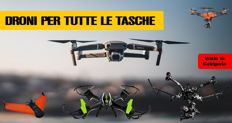 Droni per tutte le Tasche!